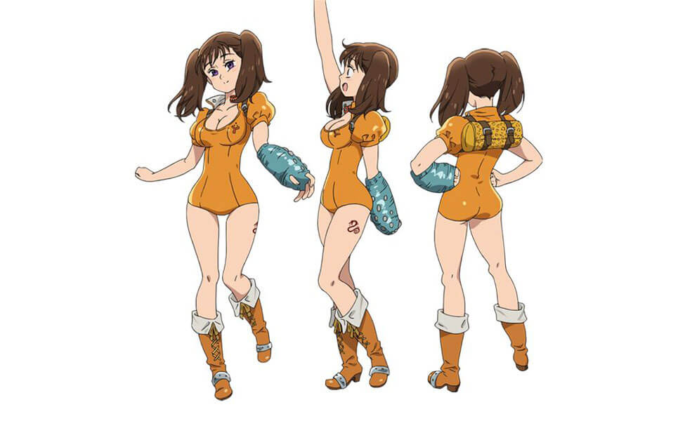 Diane from Seven Deadly Sins
