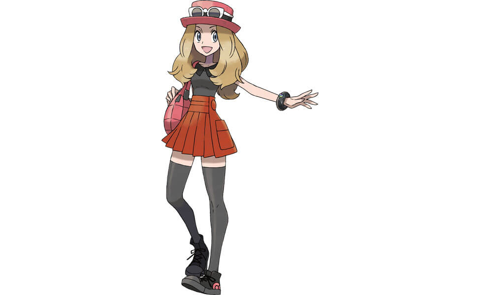 Serena from Pokemon X and Y