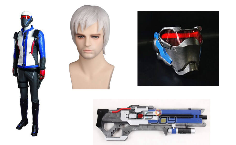0258008aa Soldier: 76 Costume | DIY Guides for Cosplay & Halloween