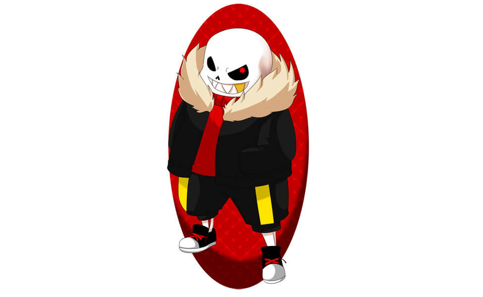 Underfell Sans Costume | DIY Guides for Cosplay & Halloween