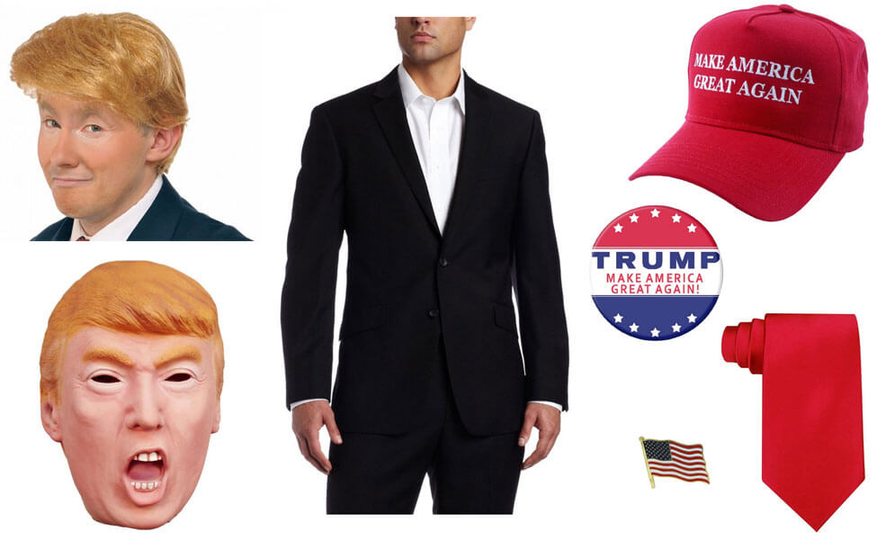 Donald Trump Costume