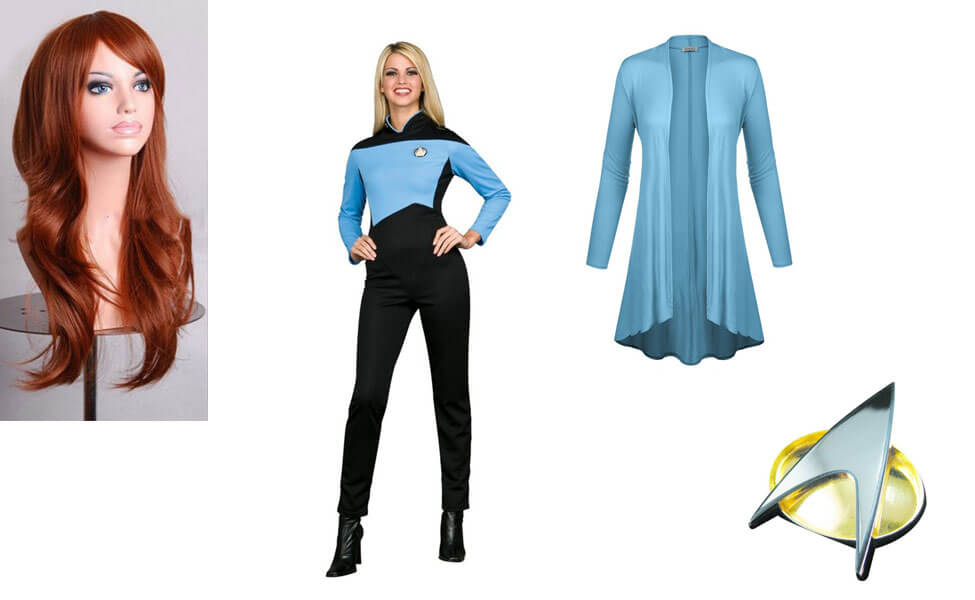 Dr. Beverly Crusher Costume  sc 1 st  Carbon Costume & Dr. Beverly Crusher Costume | DIY Guides for Cosplay u0026 Halloween