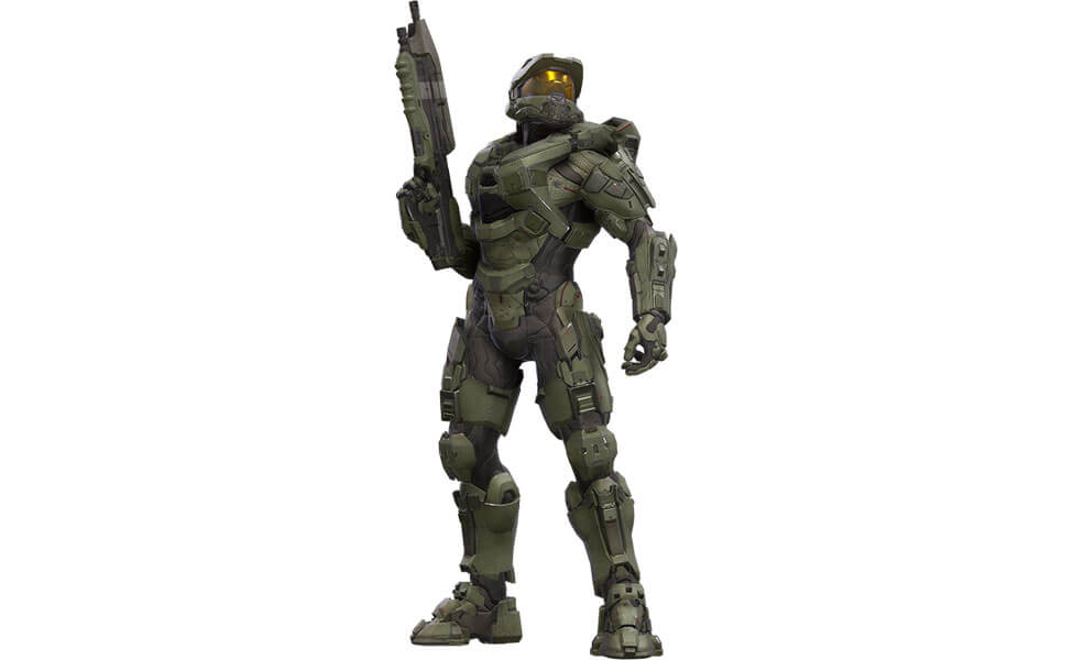 Master Chief Costume Carbon