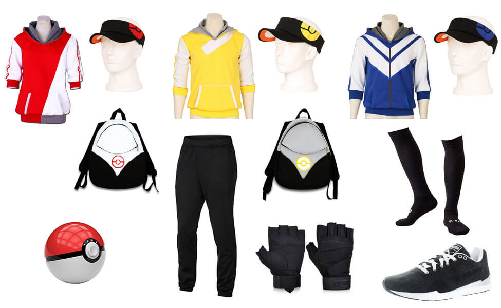 pokemon go trainer costume diy guides for cosplay halloween. Black Bedroom Furniture Sets. Home Design Ideas