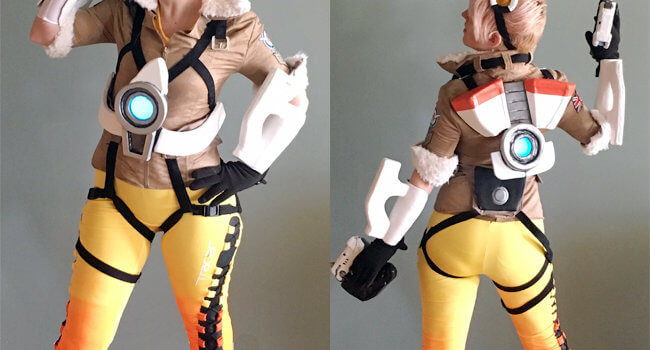 Make Your Own: Tracer from Overwatch