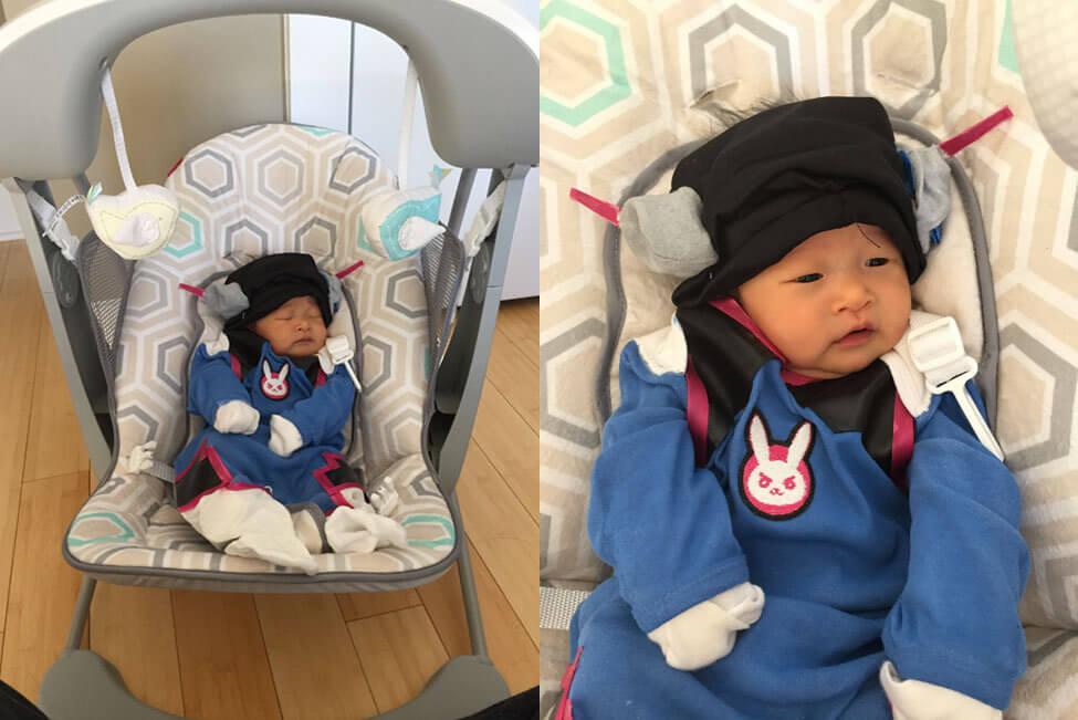 Baby D.Va Mecha