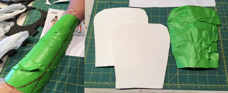 Tracer Bracer Pattern