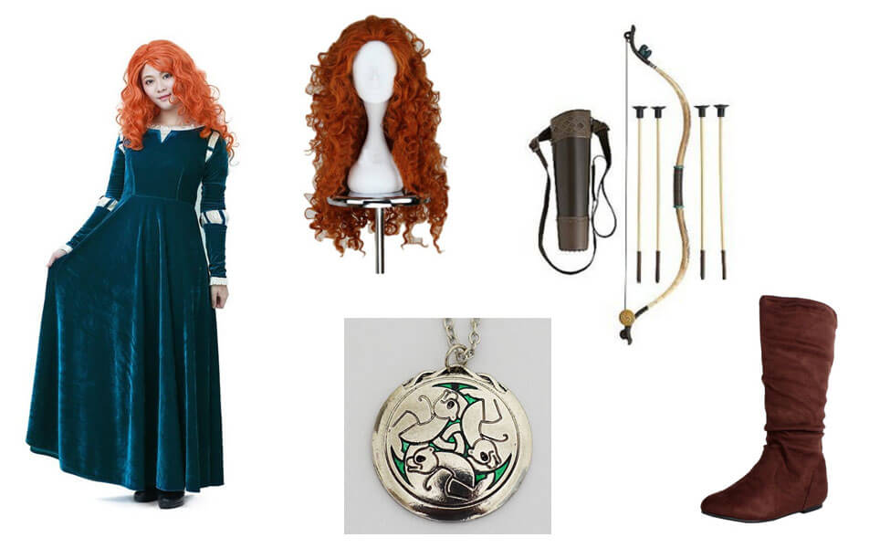 Merida from Brave Costume