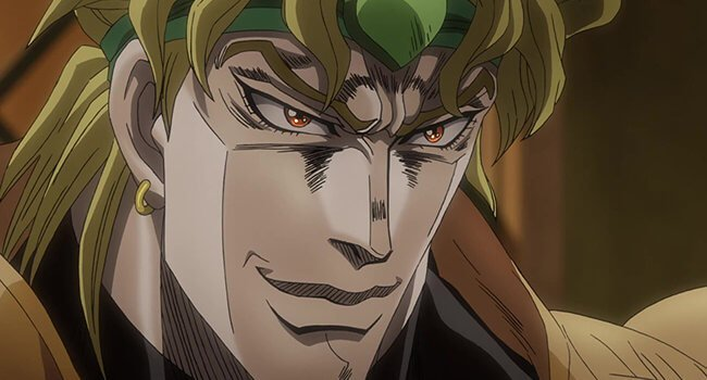 DIO From Stardust Crusaders