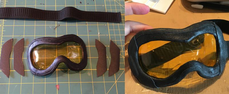 Tracer Goggles Traps