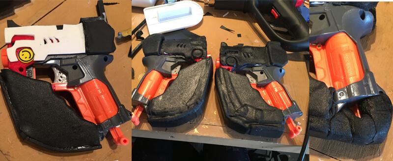 Tracer Guns Worbla