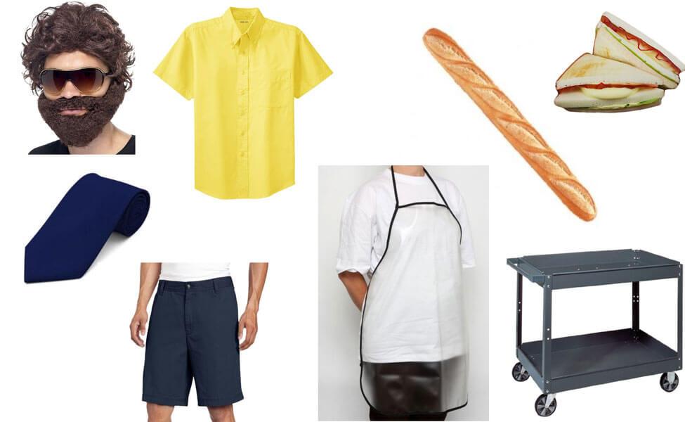 Sandwich Sam Costume