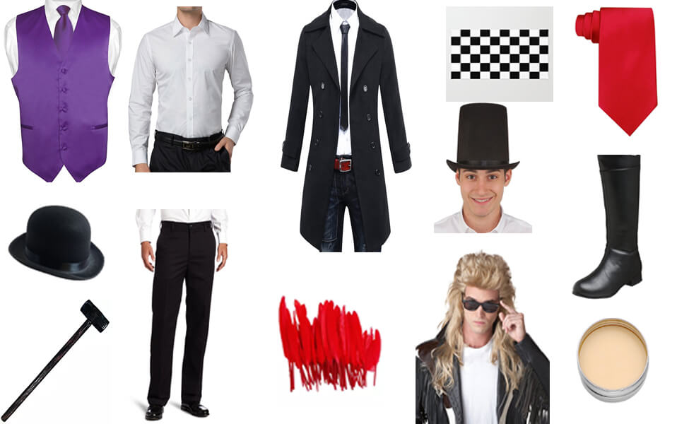 Robert E.O. Speedwagon Costume