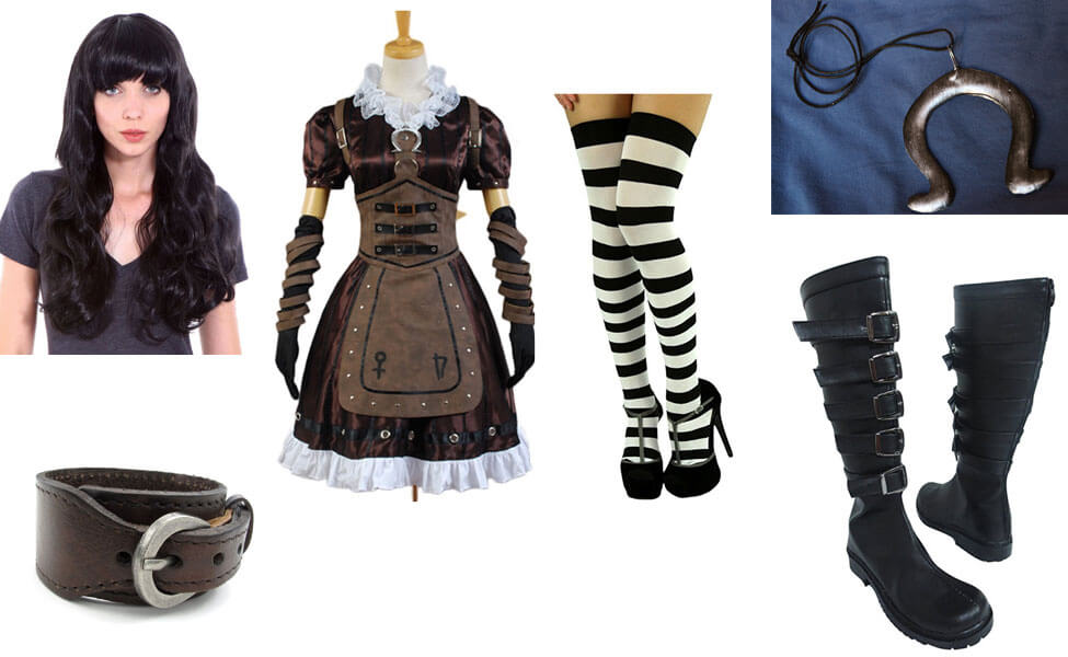 Steamdress Alice Costume