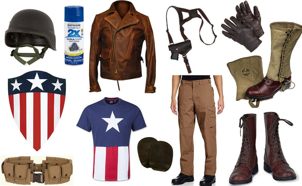 WWII Captain America Costume