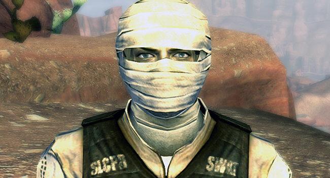 Joshua Graham from Fallout: New Vegas