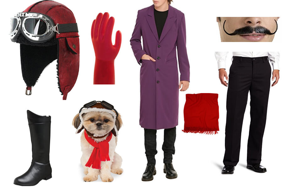 Dick Dastardly and Muttley Costume