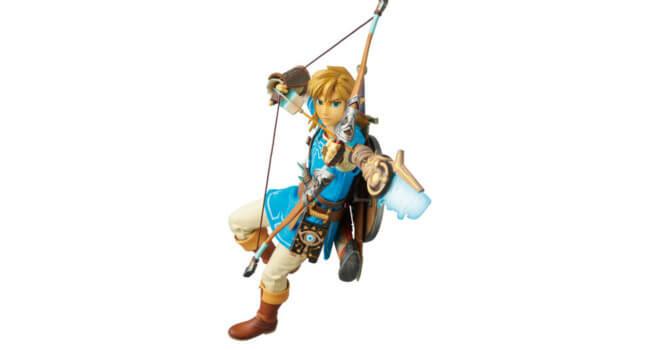 Link in Zelda: Breath of the Wild