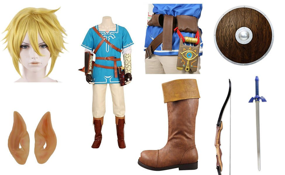Link in Zelda: Breath of the Wild Costume