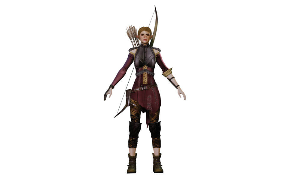 Sera from Dragon Age: Inquisition