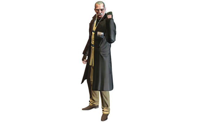 Liquid Ocelot From Metal Gear Solid 4
