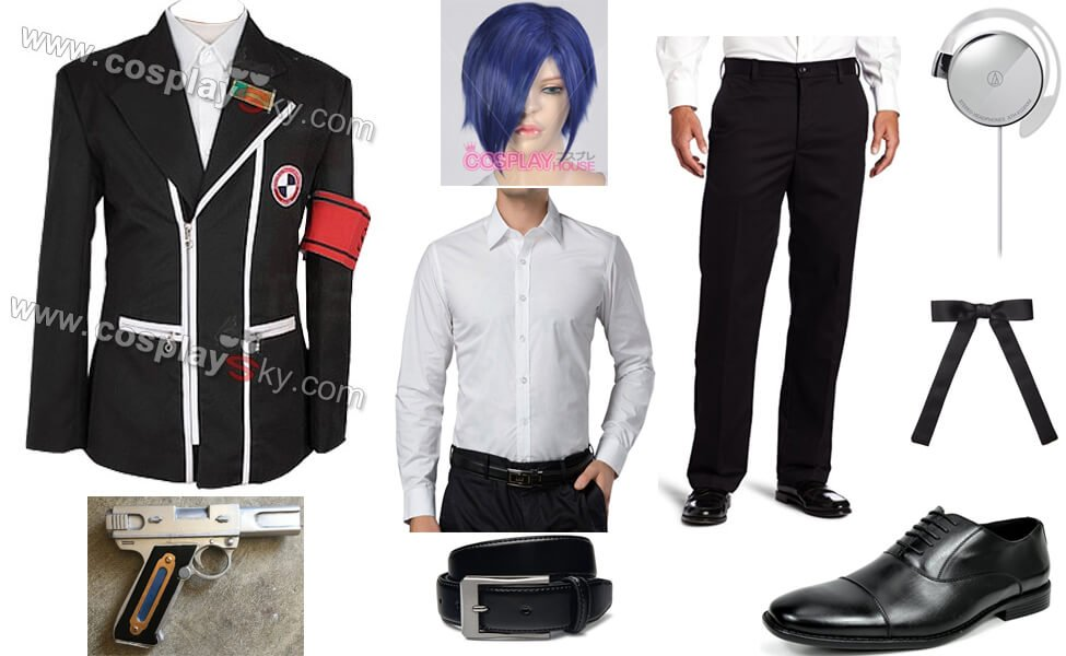 0ee684a61d857 Persona 3 Protagonist Costume | DIY Guides for Cosplay & Halloween