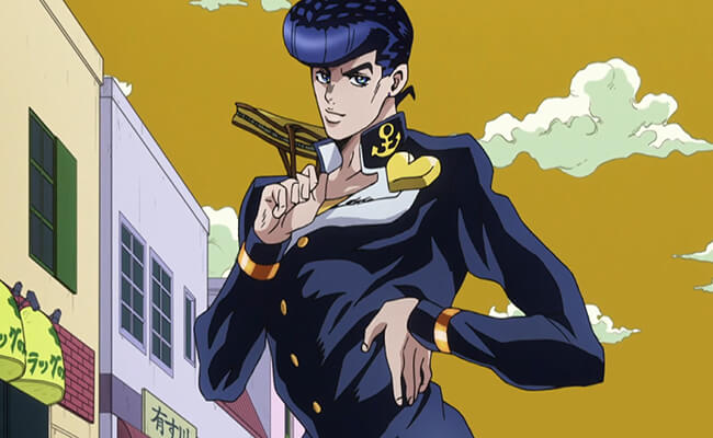 Image result for josuke higashikata anime