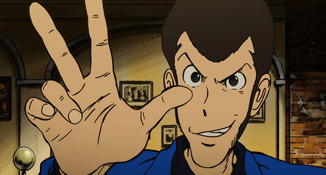 Lupin III Blue Jacket Series Version