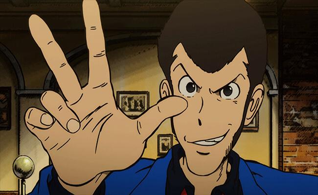 Lupin III Blue Jacket Series Version