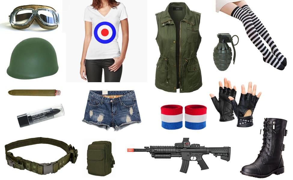 Tank Girl Costume