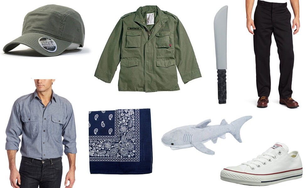 Quint from Jaws Costume
