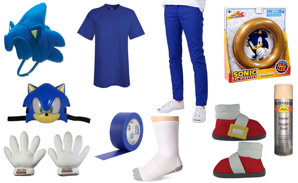 Sonic the Hedgehog Costume  sc 1 st  Carbon Costume & Sonic the Hedgehog Costume | DIY Guides for Cosplay u0026 Halloween