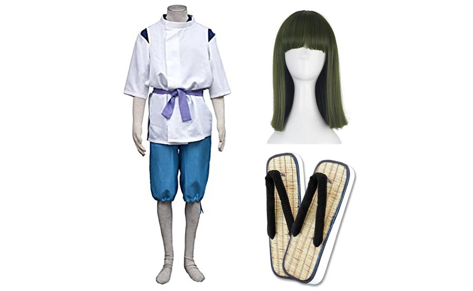 Haku (Nigihayami Kohaku Nushi) Costume