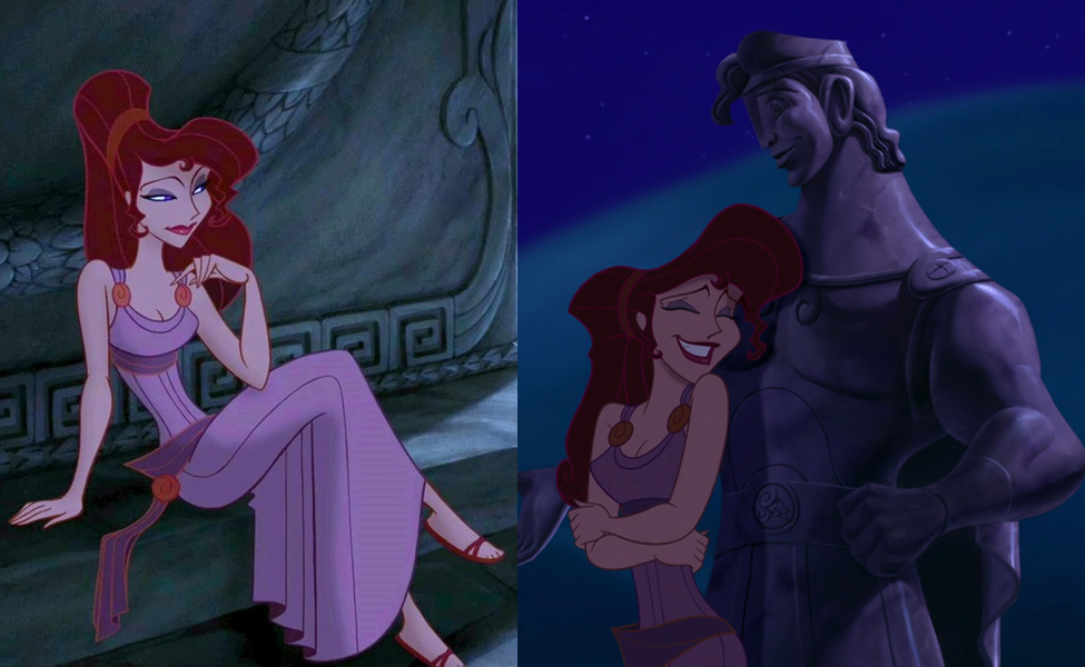 megarameg susan egan is the feisty street smart sarcastic love interest in disneys hercules in exchange for her soul hades james woods saves the
