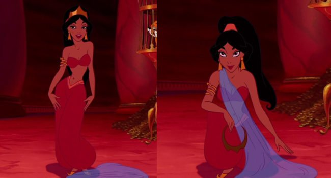 Princess Jasmine in Red