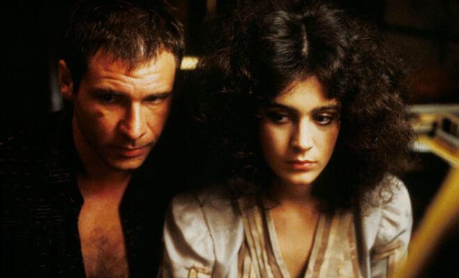 Rick Deckard and Rachael in Blade Runner