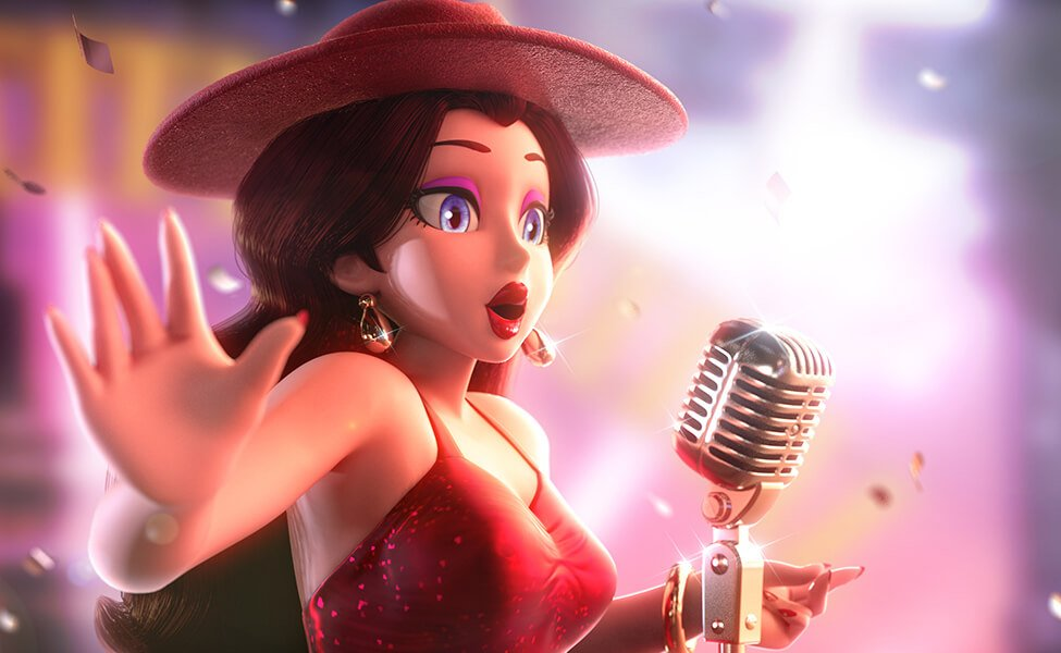 Pauline From Super Mario Odyssey