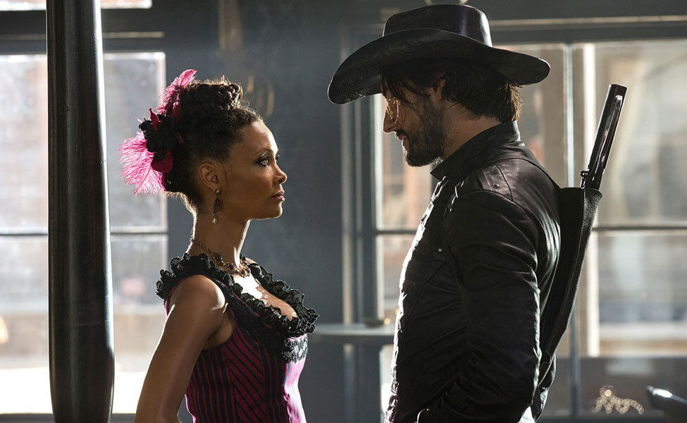 Maeve and Hector in Westworld