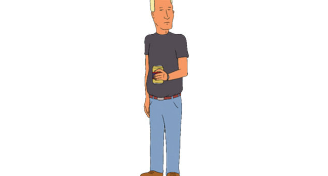 Jeff Boomhauer in King of the Hill