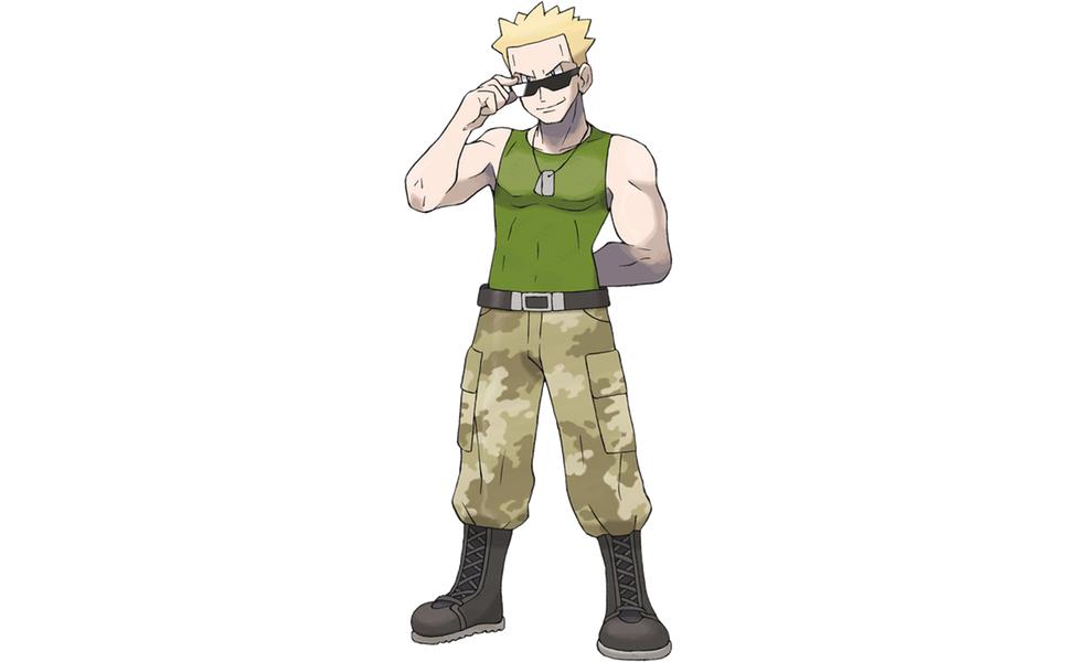 Gym Leader Lieutenant Surge
