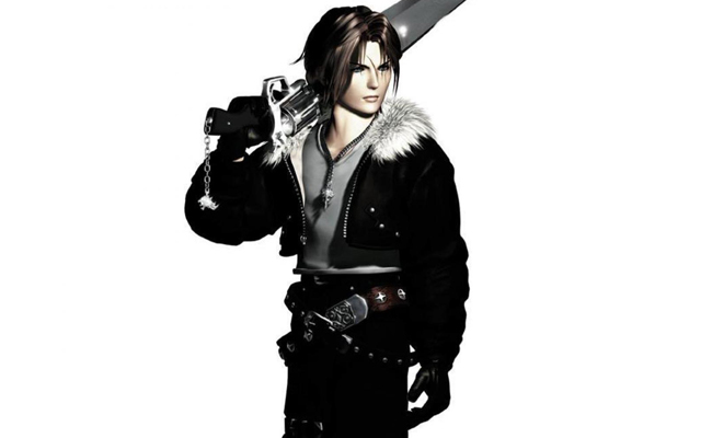 Squall Leonhart in Final Fantasy VIII
