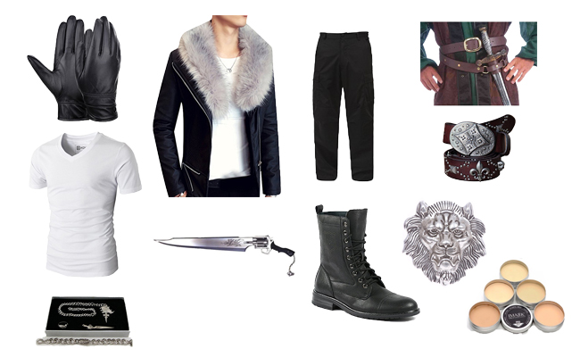 Squall Leonhart in Final Fantasy VIII Costume