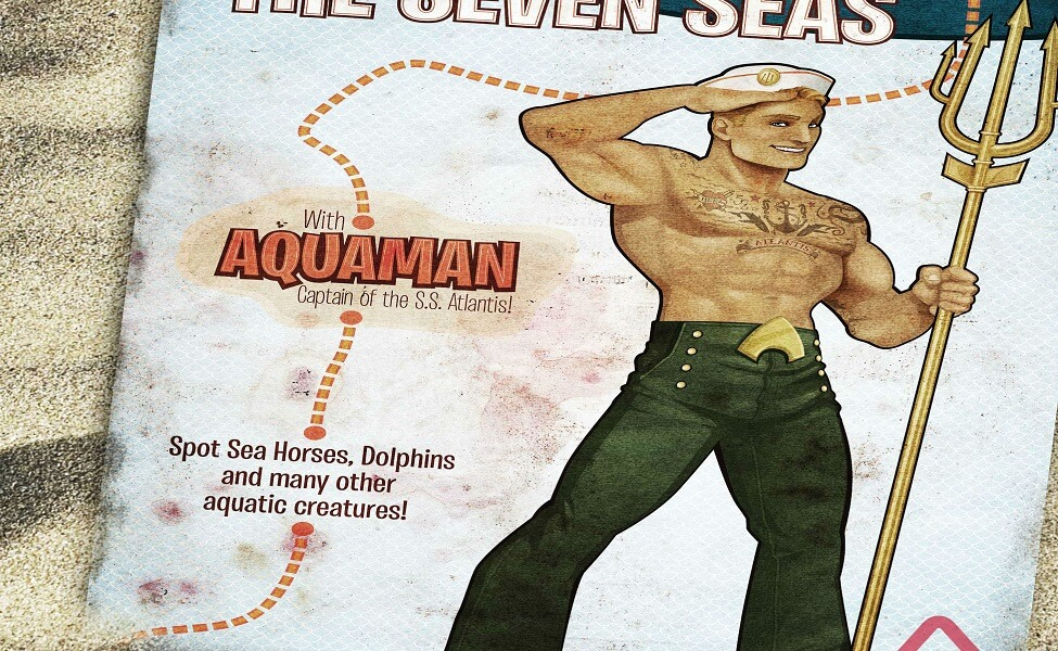 Bombshell Aquaman