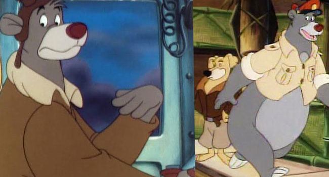 Baloo from TaleSpin