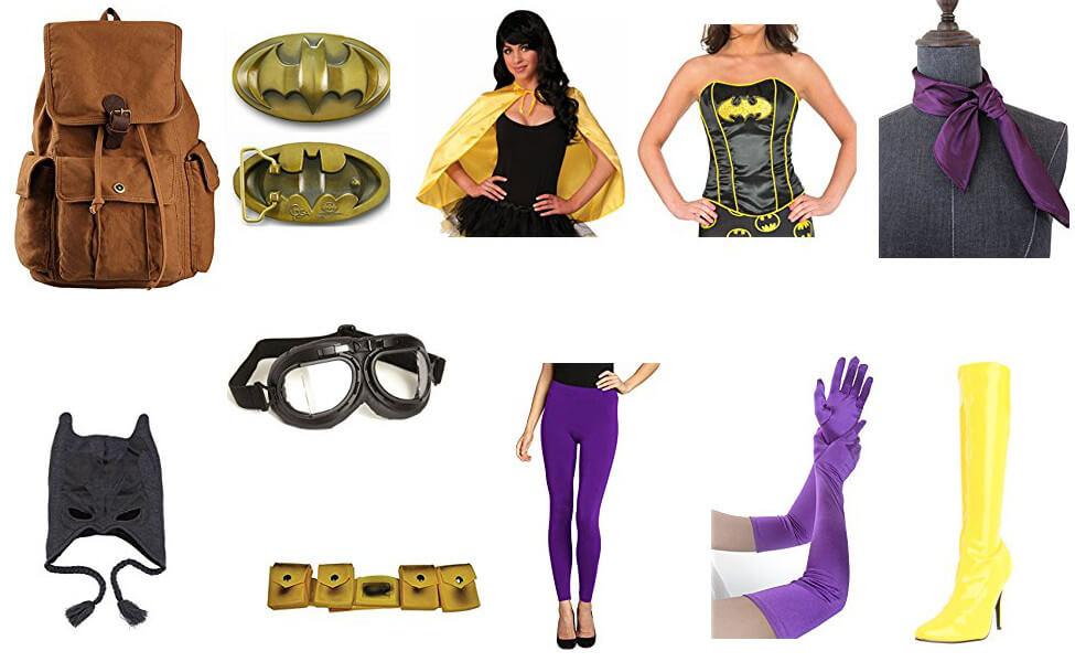 Bombshell Batgirl Costume