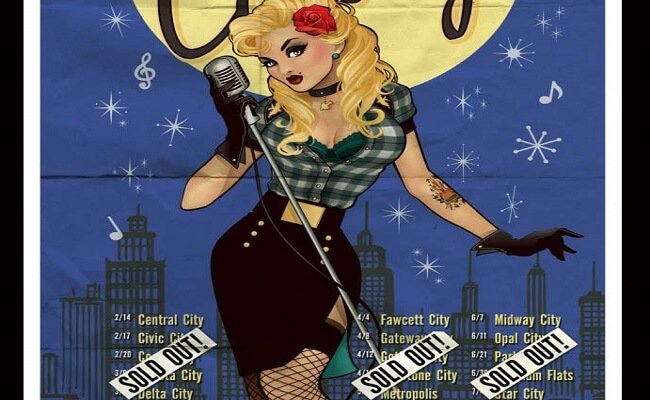 Bombshell Black Canary