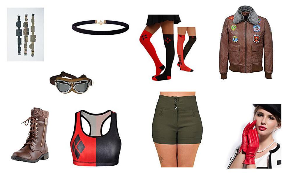 Bombshell Harley Quinn Costume