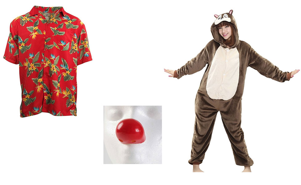 Dale from Chip 'n Dale: Rescue Rangers Costume