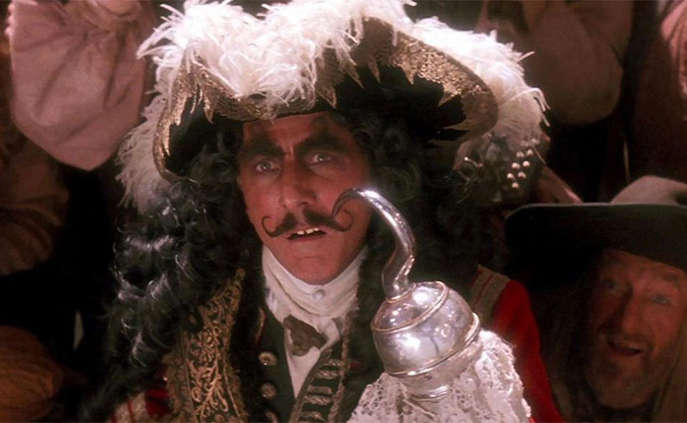 Captain Hook from Hook