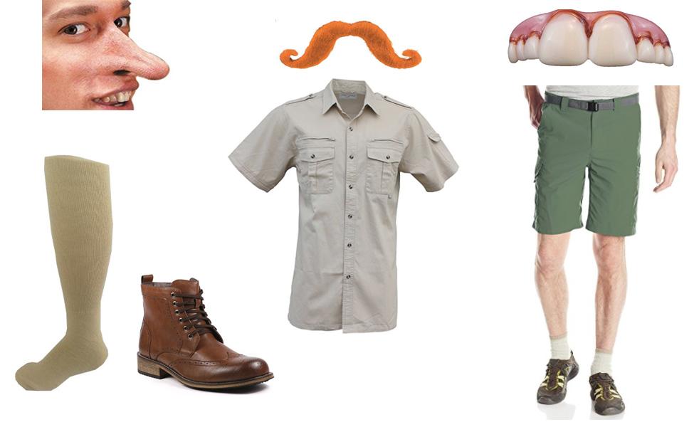 Nigel Thornberry Costume